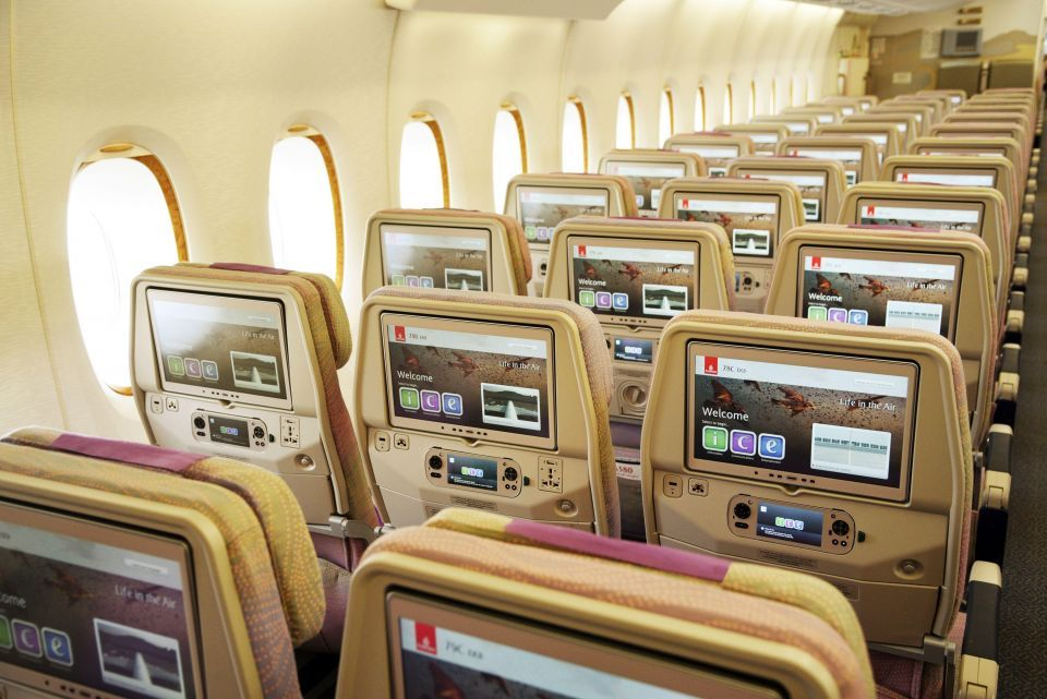 Now your playlists can be waiting for you on Emirates flights