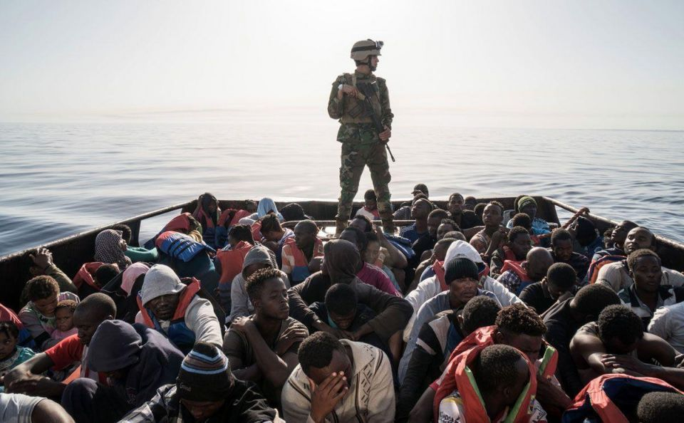 In pictures: Rescue over 8,000 migrants in Mediterranean