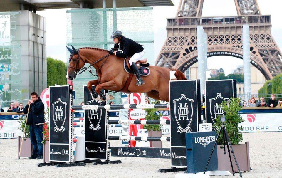 In pictures: Saudis Kamal Abdullah Bahamdan competing in Longines Paris Eiffel