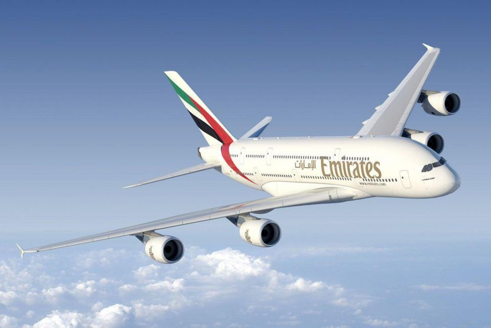 Emirates A380  in 'near miss' incident