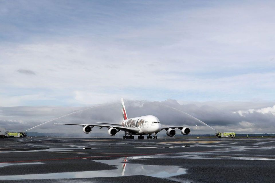 In pictures: Emirates Team New Zealand arrive in Auckland
