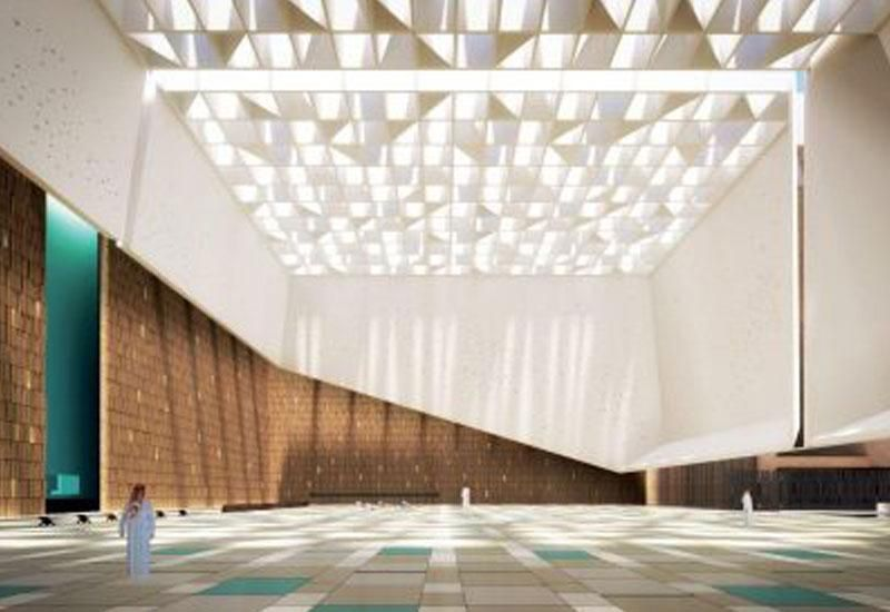 In pictures: Design of Najd-inspired Saudi mosque