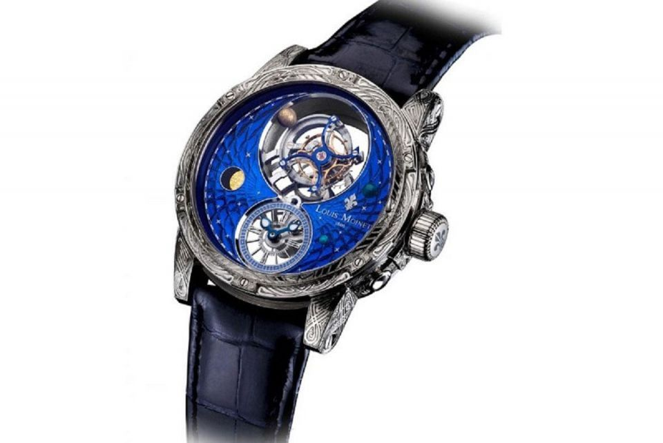 Revealed: Space-inspired watch by Louis Moinet