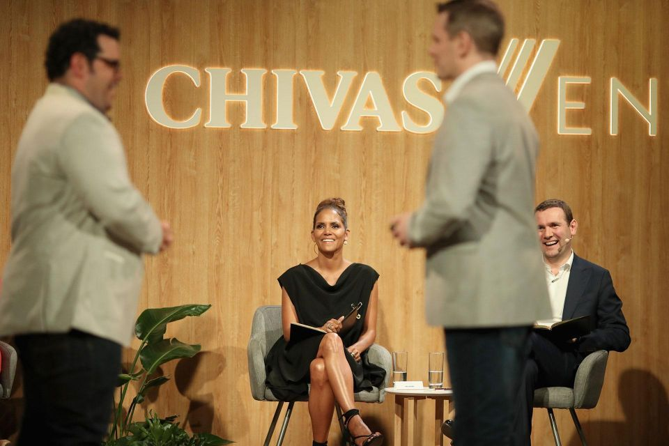 Halle Berry at Chivas The Venture finals in Los Angeles