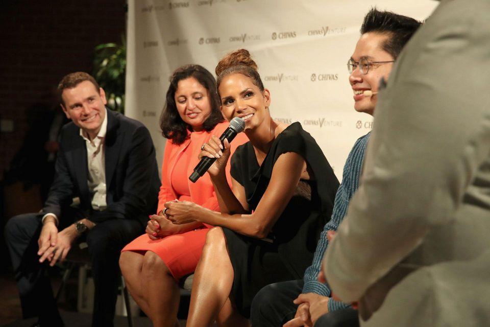 Halle Berry was a judge at Chivas The Venture 2017