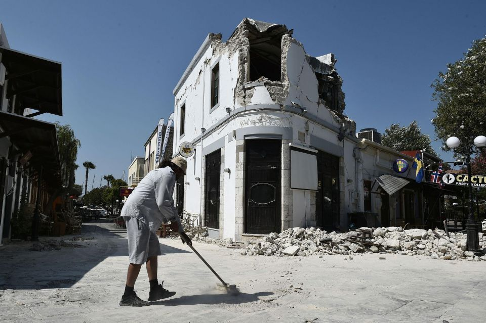 In pictures: Earthquake strikes Greek holiday island of Kos and Turkish Aegean coast