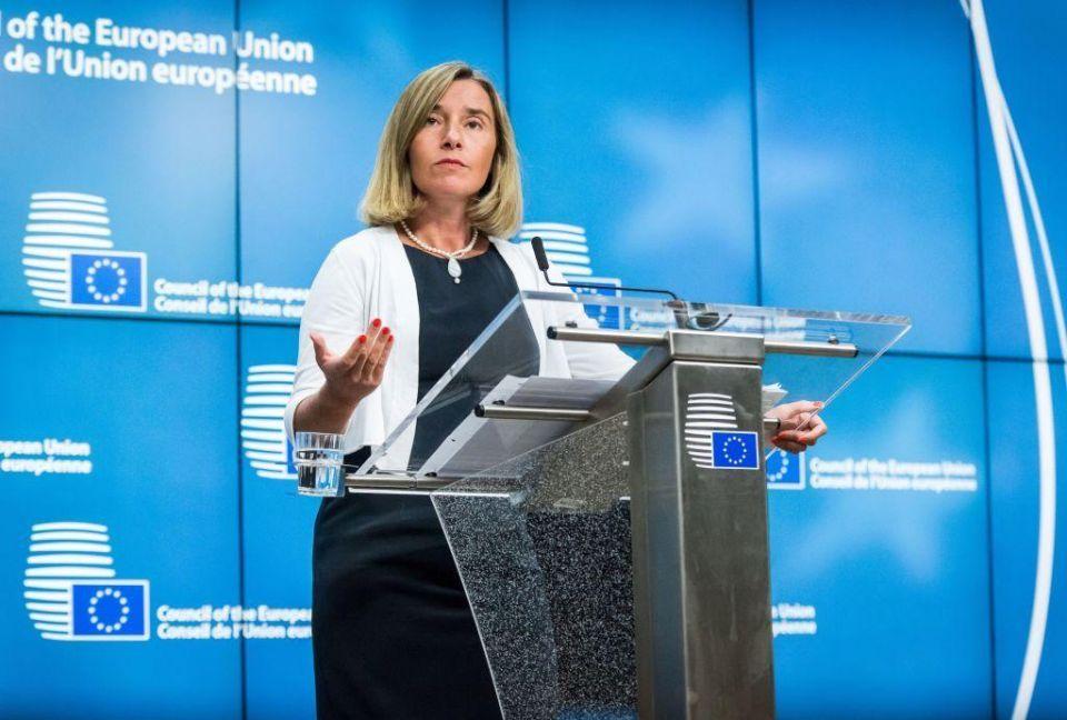 EU foreign affairs chief urges talks to resolve Gulf crisis