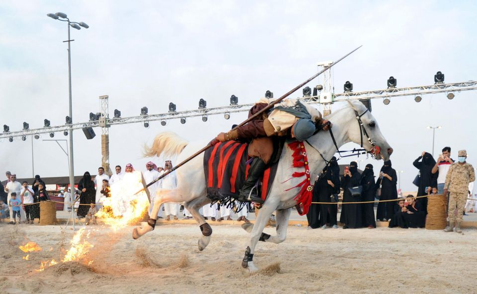 In pictures: Souk Okaz Festival in the Saudi city of Taif