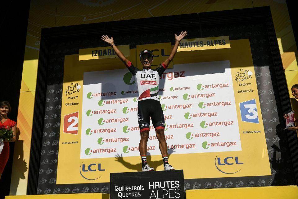 In pictures: UAE Team Emirates in Tour de France action
