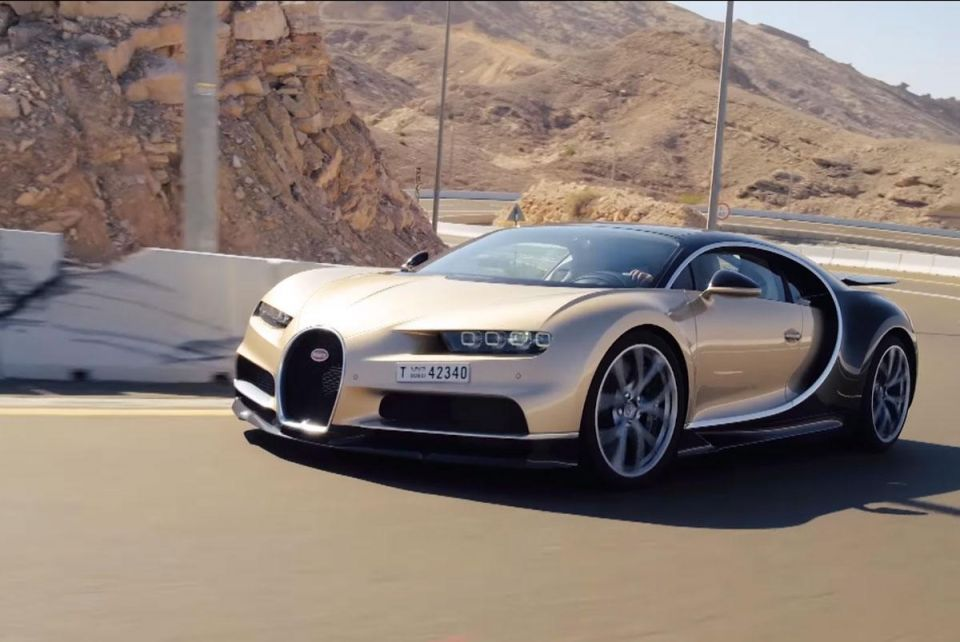 Top Gear races Bugatti Chiron from Oman to the UAE