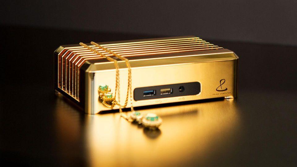 $1 million 18-carat gold PC launches in UAE