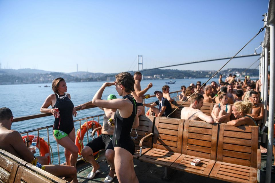 In pictures: Istanbul open water swimming event spans 2 continents