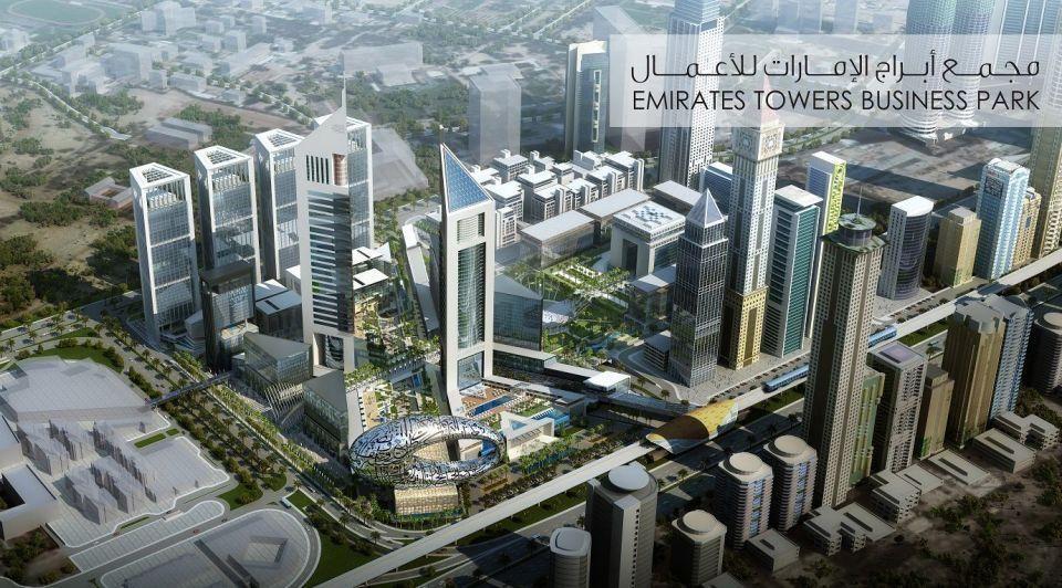 Tecom hired to develop Dubai's new $1.36bn business park