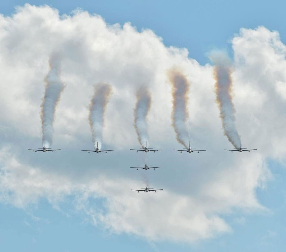 In pictures: Fursan Al Emarat took to the skies at the MAKS 2017 air show