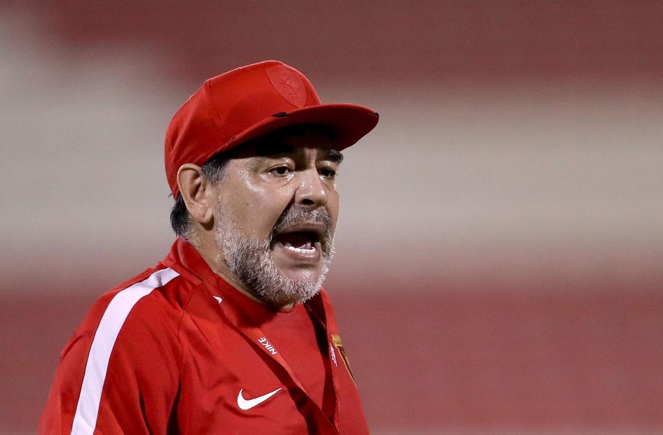 Maradona quits as coach of UAE side Al Fujairah