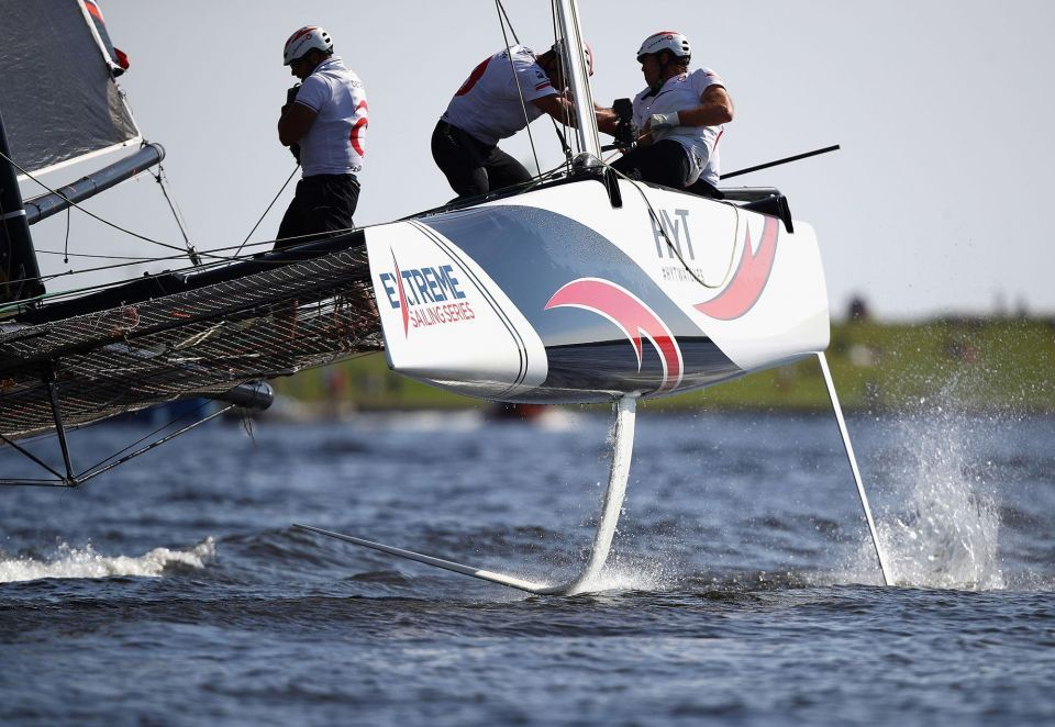 In pictures: Sixth act of the Extreme Sailing Series in Cardiff