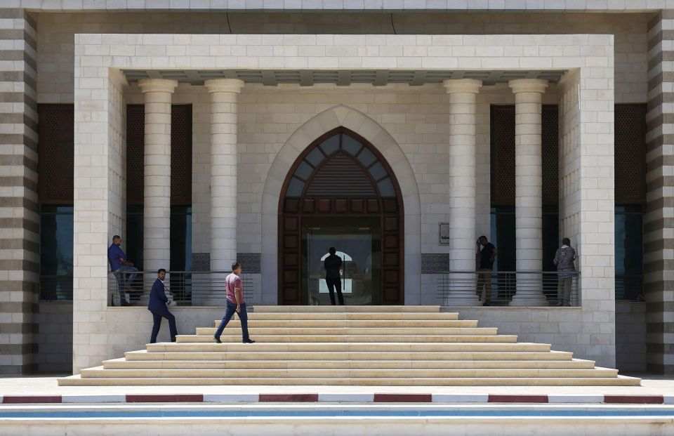 In pictures: $17.5m Palestinian presidential palace to be turned into a national library