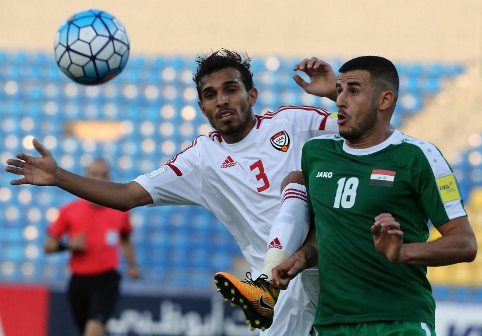 In pictures: FIFA World Cup Russia 2018 qualifier: UAE vs Iraq