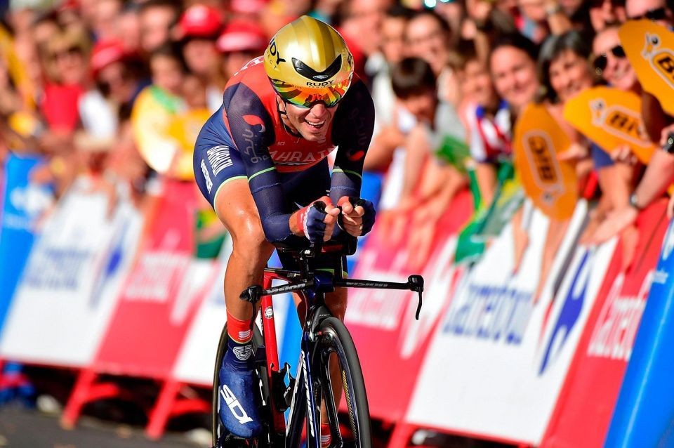 In pictures: Team Sky Chris Froome wins stage 16 at La Vuelta