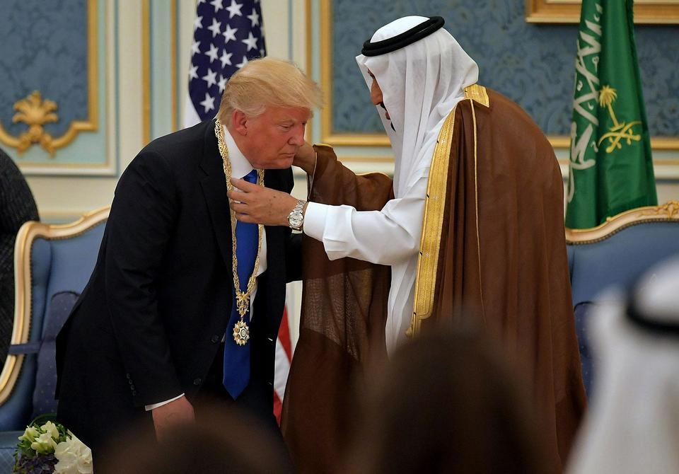 Revealed: the 83 gifts Saudi Arabia gave Donald Trump