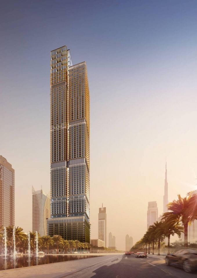 Work set to start on new $410m Dubai skyscraper