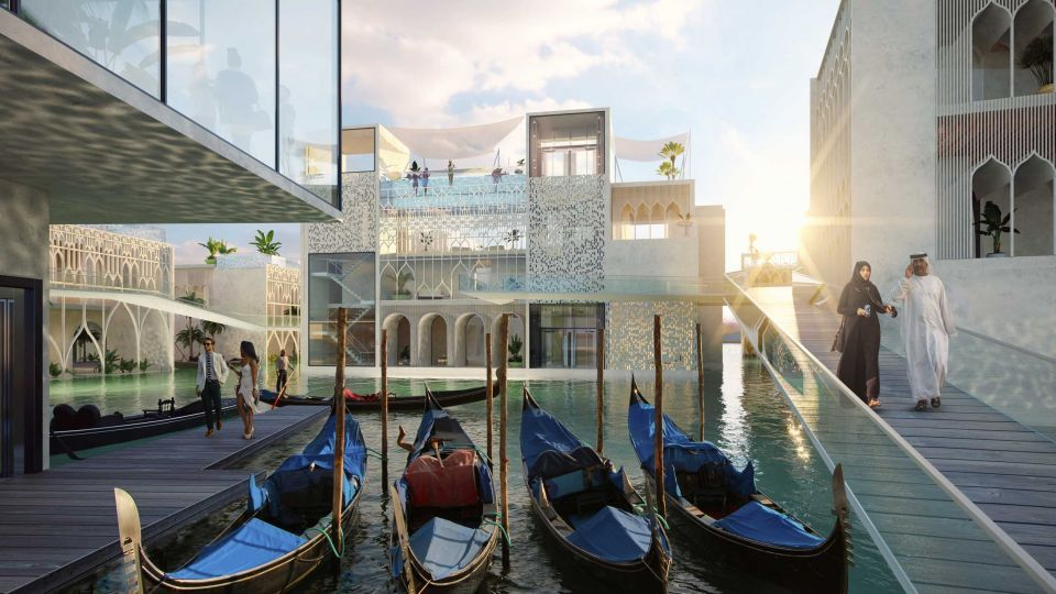 Welcome to the Floating Venice, 4km off the Dubai coast