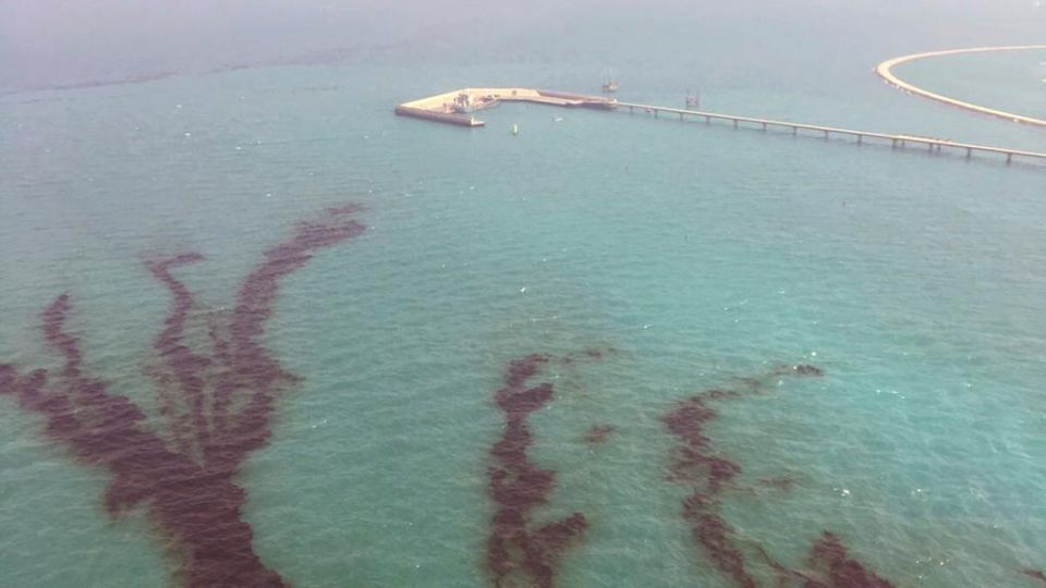 Kuwait says dealing with oil spill in Ras Al Zour