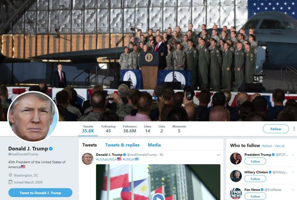 Revealed: Donald Trump's value to Twitter