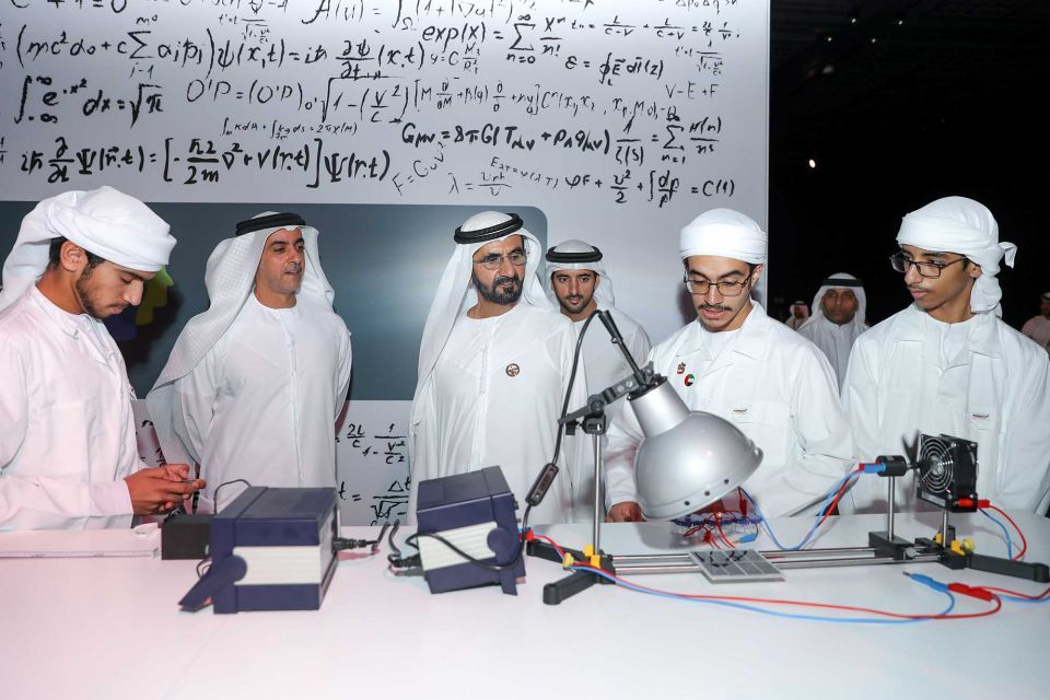 In pictures: Dubai's Sheikh Mohammed launches Arabic eLearning project