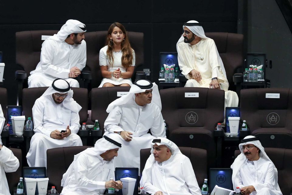 In pictures: Sheikh Mohammed attends 'La Perle' show at Al Habtoor City
