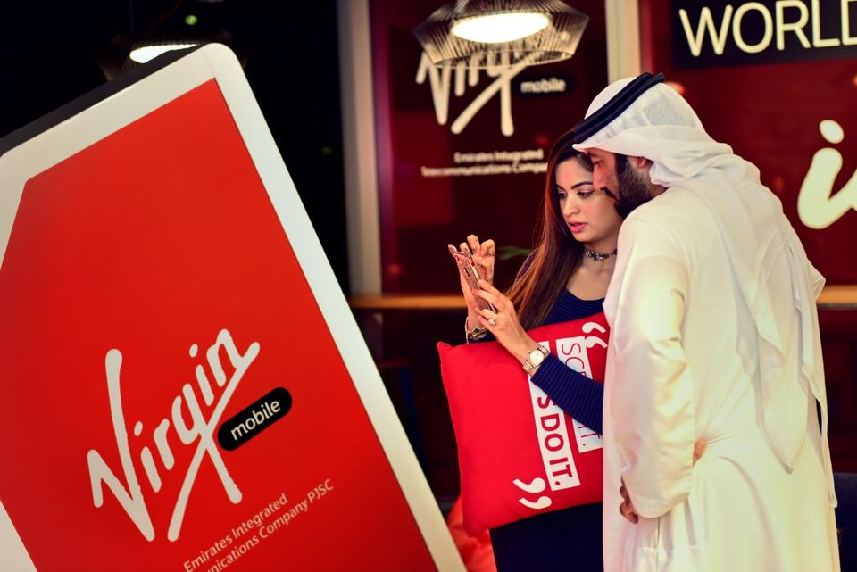 Virgin Mobile launches first for mobile phone users in the UAE