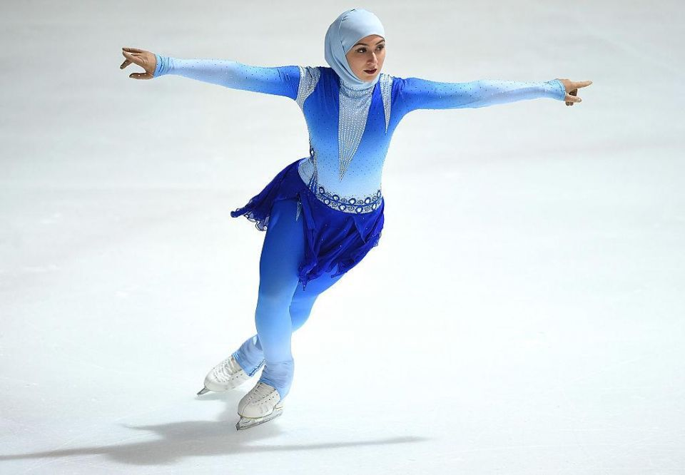 Can Zahra become the UAE's first Winter Olympics athlete?