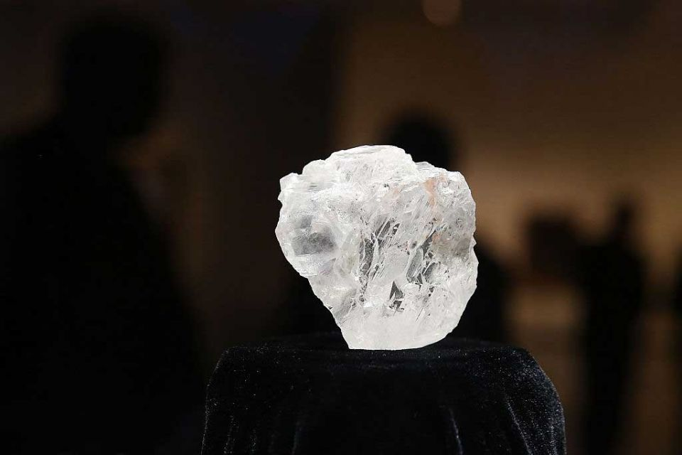 Biggest diamond in more than a century sells for $53m