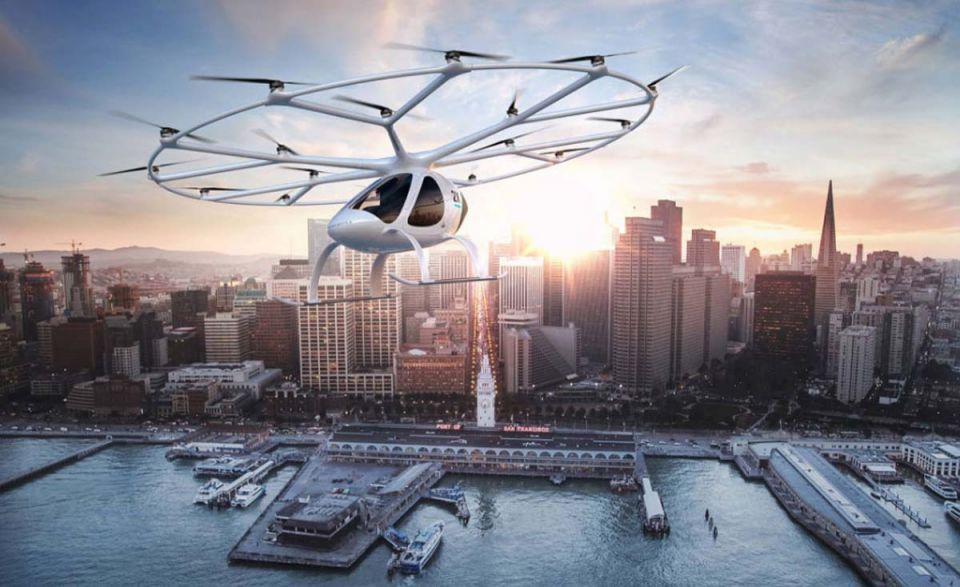Flying taxi start-ups target Asia debut using European technology