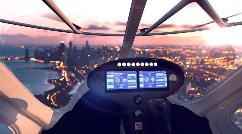 In pictures: Dubai's flying taxis