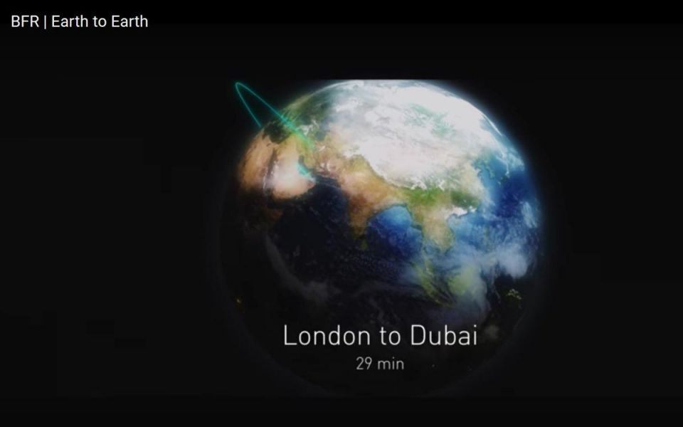 Dubai to London in 29 minutes? Elon Musk's plan to develop a space rocket airline