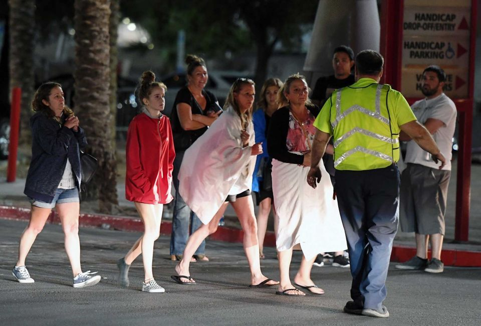 In pictures: Mass shooting hundreds injured, 59 killed in Las Vegas concert venue