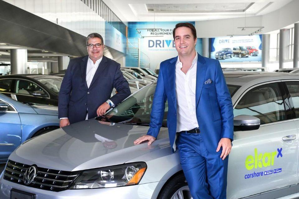Al Nabooda Automobiles partners with ekar for carsharing service