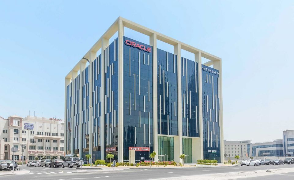 ENBD REIT buys Oracle-branded Internet City building in Dubai