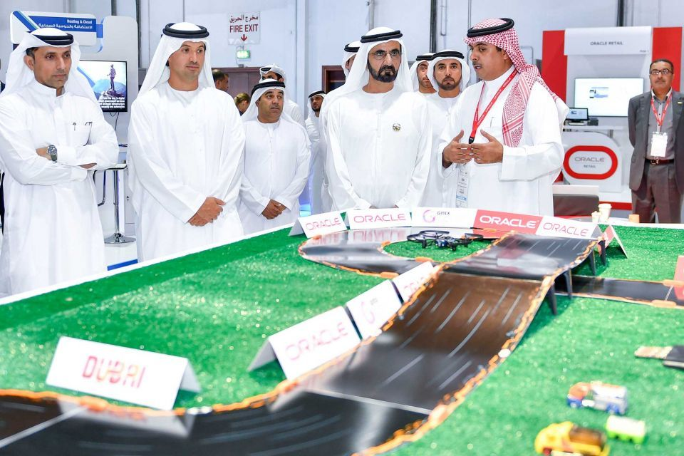 In pictures: Dubai Ruler visits 2017 Gitex Technology Week