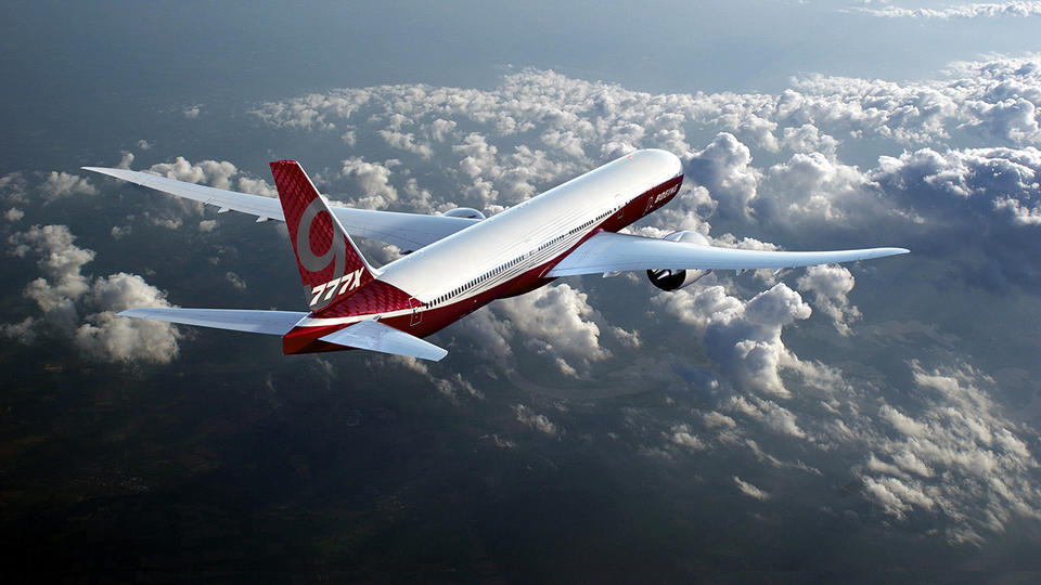 Boeing says first flight of new 777X plane set for 2019