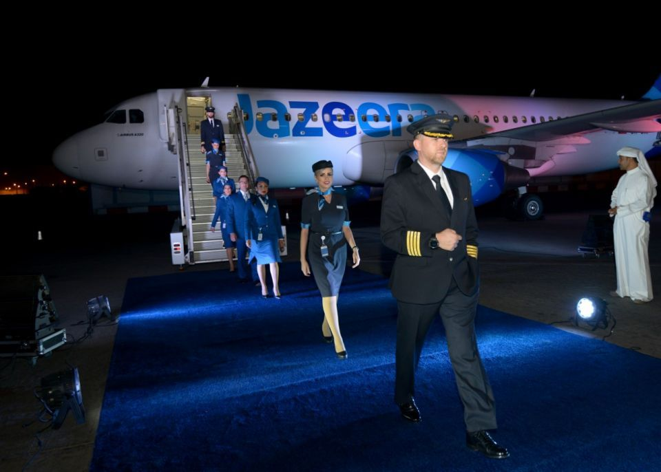 Kuwait's Jazeera launches new livery, cabins, crew uniforms