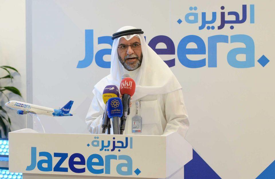 In pictures: Kuwait's Jazeera Airways unveils its new livery