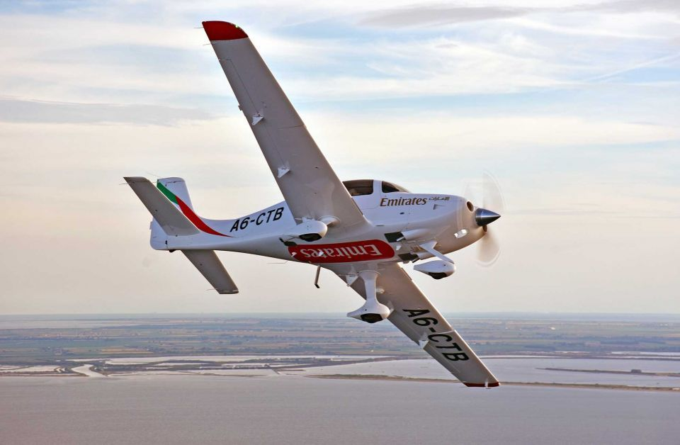 In pictures: Emirates Flight Training Academy training aircraft Cirrus SR22 G6