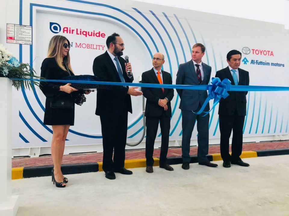 UAE opens first hydrogen station in Dubai