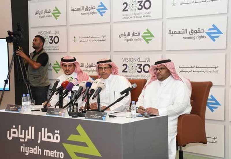 Riyadh to sell metro stations' naming rights