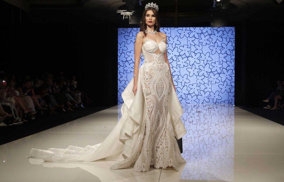 In pictures: Dubai-based Syrian fashion designer Manal Ajaj show in Beirut