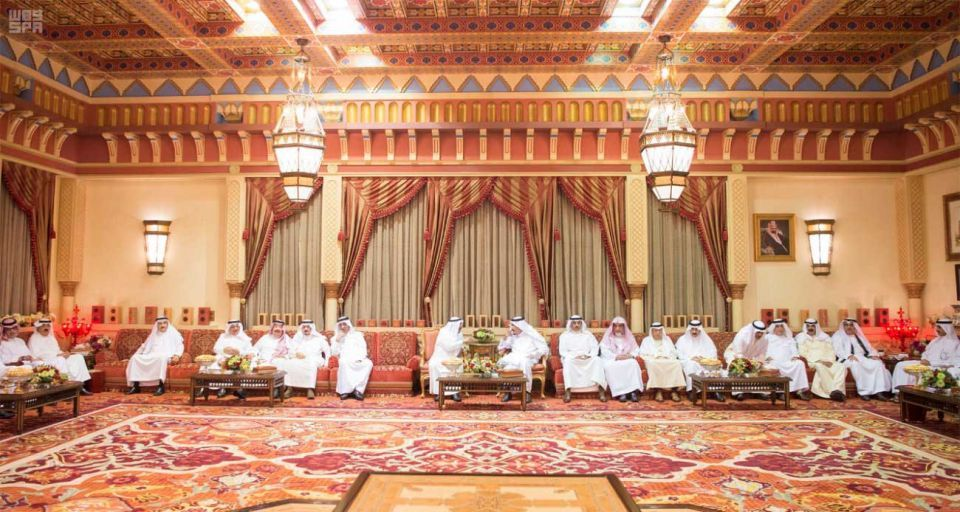 In pictures: Saudi Arabia King Salman receives Emir of Kuwait