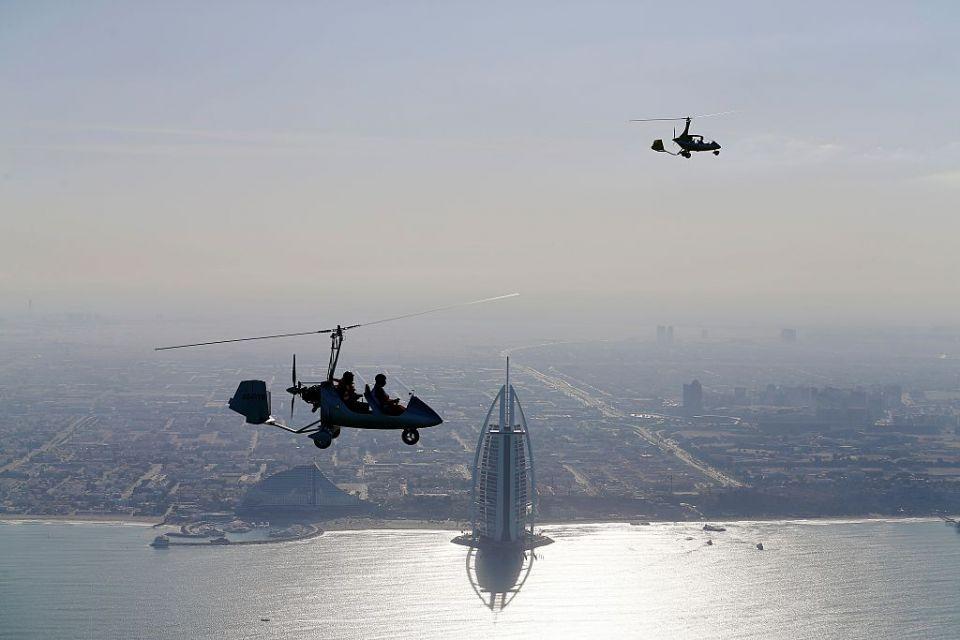 Pilot error to blame for fatal Dubai gyrocopter crash in 2015