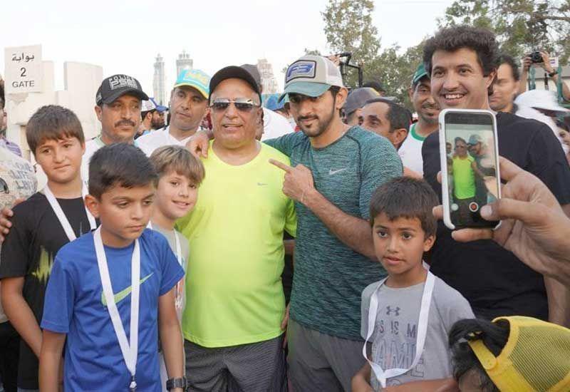 In pictures: Sheikh Hamdan launches Dubai Fitness Challenge